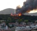Мръсна провокация! Гадове пак запалиха Борова гора над Стара Загора, два часа преди мача с Легендите на
