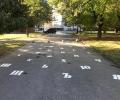 Азбуката изписаха върху паркова алея младежите от ГЕРБ – Стара Загора