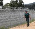 Завършва възстановяването на щетите на възпрепятстващото съоръжение по българо-турската граница, нанесени от природно бедствие в община Малко Търново