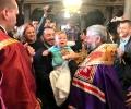 Кръстиха 31 деца в храм