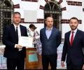 Кметът на Стара Загора Живко Тодоров със сертификат за принос в подкрепа на раждаемостта в България