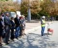 Направиха първа копка за обновяването на централния площад и пешеходната зона в Стара Загора