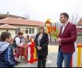 Нова детска площадка откриха в старозагорското село Сулица