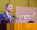 """Народният представител Борис Кърчев обсъжда с бизнесa в Казанлък проекта """"Интегриран градски транспорт"""