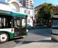 Кола удари автобус на градския транспорт в старозагорското село Дълбоки