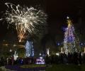 Коледната елха грейна в Стара Загора