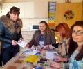 МГЕРБ – Стара Загора и близо 100 деца твориха коледни картички и украси