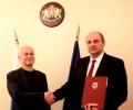 Главният прокурор е наградил Гриша Мавров, районен прокурор на Стара Загора, за висок професионализъм
