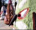 """Гигантските маски от """"Кукерландия"""" идват в Стара Загора"""