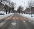 Улиците в Стара Загора тази сутрин: основните - почистени до асфалт