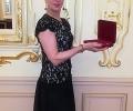 Силвия Томова - с наградата
