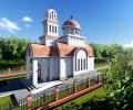 Водосвет и молебен в новия храм