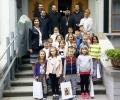 Деца посетиха дядо Киприан