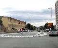 Изпълнителят на жп надлеза ще изгради за своя сметка временното кръгово движение на Калояновско шосе