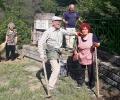 Почистиха паметника на Марийка Тодорова-Наталия в старозагорското село Колена