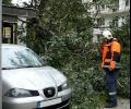 Община Стара Загора ликвидира последствията от падналия снощи дъжд