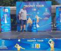 """Стара Загора посреща уникален """"Трофи тур"""" на Купата за Световното първенство по волейбол"""