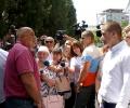 Премиерът Борисов инспектира изпълнението на европроектите за над 52 млн. лв. в Стара Загора