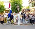 Русофили се поклониха пред паметника на генерал Скобелев в Казанлък