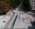 Демонтираните строителни материали при ремонтите в Стара Загора отиват на склад, а оттам - за благоустрояване на селата