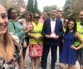 Младежите от ГЕРБ - Стара Загора проведоха втория етап на инициативата #БъдиКолегиален на пътя