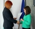 Областният управител връчи грамоти на участниците в кампания