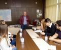 Председателят на Общинския съвет в Стара Загора се срещна с колегата си от Млада Загора