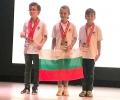 Посрещат тържествено във II ОУ бронзови медалисти от световно състезание по математика