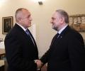 Премиерът Бойко Борисов се срещна с главния изпълнителен директор и вицепрезидент на Световния еврейски конгрес Роберт Сингер