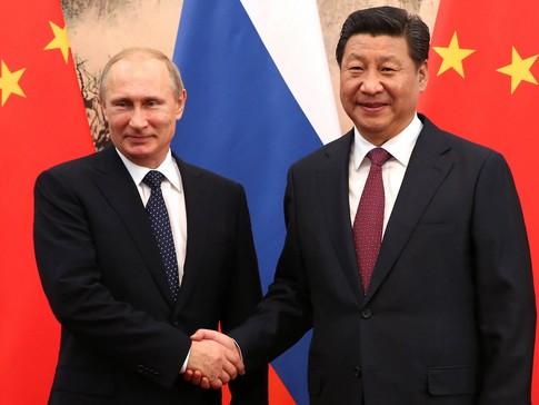 Putin i Si Czinpin