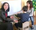 Старозагорският омбудсман Надежда Чакърова подкрепя каузата на центъра за работа с деца с аутизъм