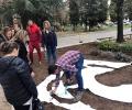 Биберон от лавандула ще приветства майки и бебета в двора на АГ комлекса в Стара Загора