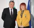 Областният управител Гергана Микова се срещна с посланика на Украйна Виталий Москаленко