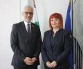 Областният управител Гергана Микова се срещна с посланика на Египет Моайед Фатхалла Ел Дали