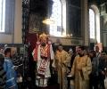 Архиерейска служба на Възкресение Христово в Стара Загора