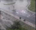 Тропическа буря удари Стара Загора. Улиците се превърнаха в реки, има много паднали дървета и наводнени жилища