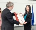 Примабалерината Анелия Димитрова с Награда от Министъра на културата