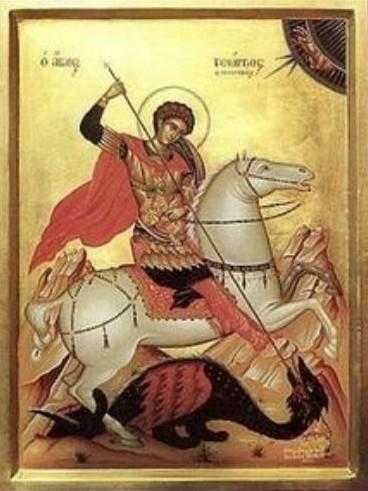 Sveti Georgi ikona 2