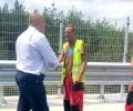 """Премиерът Борисов инспектира строително-ремонтните дейности на виадукти на автомагистрала """"Тракия"""""""