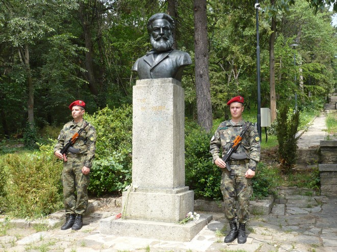 Hristo Botev monument 660