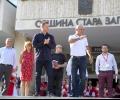 Легендата на българския футбол Христо Стоичков се срещна със старозагорци