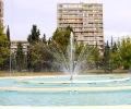 Работи се по пускането на кръглия фонтан и водното огледало в парк