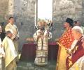 Митрополит Киприан отслужи литургия в Потопената църква на яз.