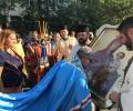 Старозагорци посрещнаха две чудотворни икони на Света Богородица