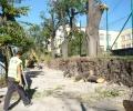 Нова ограда ще има Второ основно училище в Стара Загора, събарят стария напукан зид