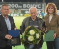 Плакет за заслуги към Община Стара Загора получи футболната легенда Евгени Янчовски