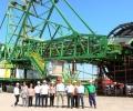 Делегация на Еврокомисията и ЕБВР инспектира напредъка по изграждането на новите роторни багери в Мини Марица-изток