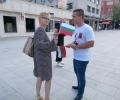 1000 български знаменца дари ВМРО - Стара Загора в деня на Съединението