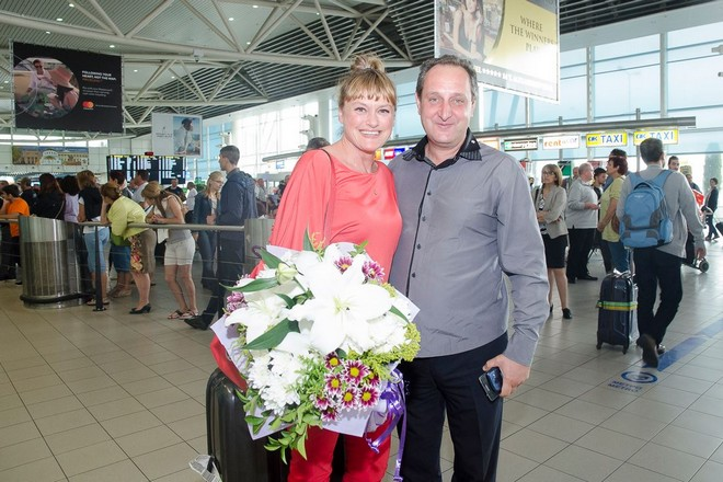Огнян Драганов и примата Веселина Кацарова, артистичен директор на Старозагорската опера