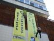 Русенка изкачи по въже сградата на Областната администрация в Стара Загора за по-малко от 3 минути